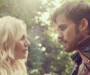 captain hook, emma swan, and captain swan image
