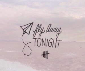 5sos, Lyrics, and fly away image