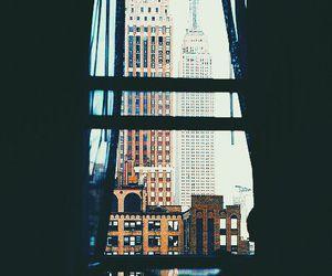 city, nyc, and window image