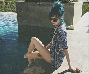 beach, fit, and kimono image