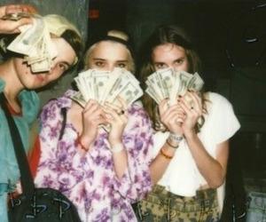grunge, money, and vintage image
