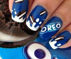 blue, Cookies, and nails image