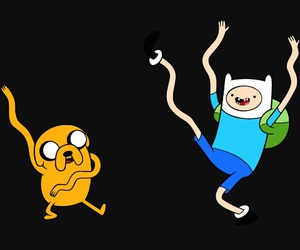 paradise, adventure time, and finn image