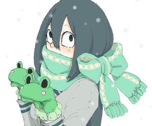 anime girl and boku no hero academia image