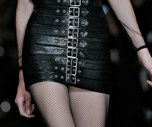 s&m, black, and Couture image