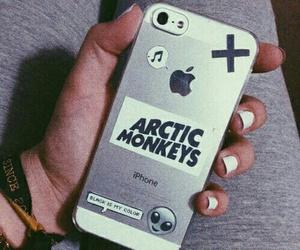 arctic monkeys, iphone, and grunge image