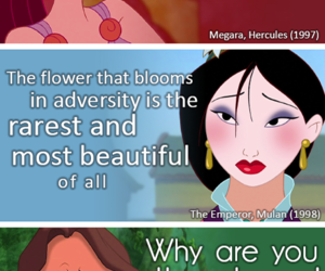 disney, hercules, and mulan image