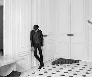 fashion, hedi slimane, and paris image