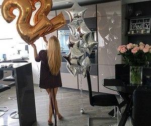 birthday and girl image