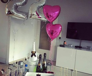 22, alcohol, and balloons image