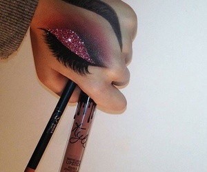 makeup, beauty, and art image