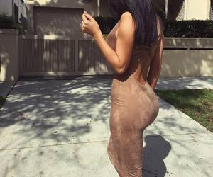 girl, dress, and body image