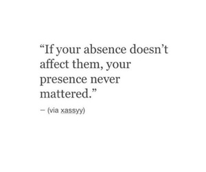 absence, never, and quote image
