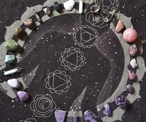crystal, stone, and magic image