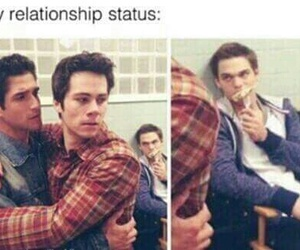 Relationship and teen wolf image