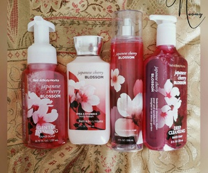 cherry, flower, and fragrance image