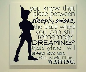 quote, peter pan, and disney image