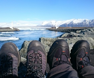islande, pieds, and salomon image