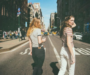 fashion, girls, and new york image