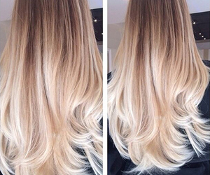 hair, hairgoals, and ombre image