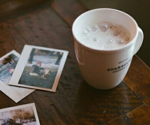 coffee, photo, and vintage image