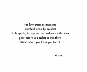 poetry, atticus, and love image