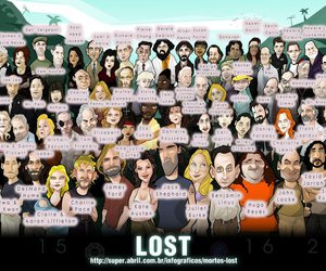 lost, serie, and perdidos image
