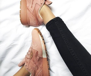 shoes, sneakers, and pink image