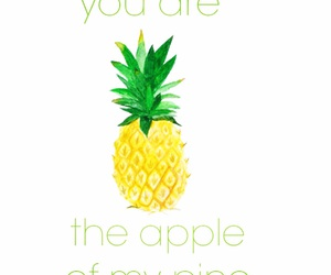 pineapple, summervibe, and quote image