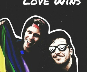 love wins, rubius, and mangel rogel image