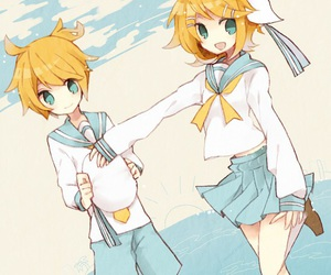 vocaloid, anime, and rin image