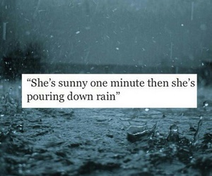 quotes, rain, and Sunny image