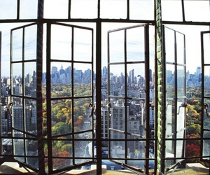 city, view, and window image