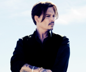 johnny depp and tattoo image