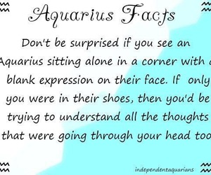 aquarius, sitting alone, and thoughts image