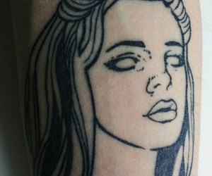 tattoo and lana del rey image