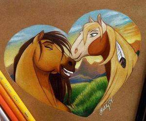 drawing and spirit image