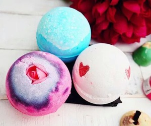 bath bombs, beauty, and lush image
