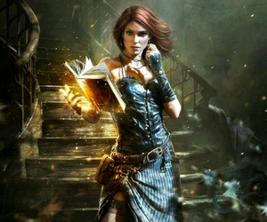 magic, fantasy, and book image