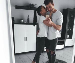 couple, fashion, and nike image