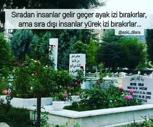 insan, mezar, and sözler image