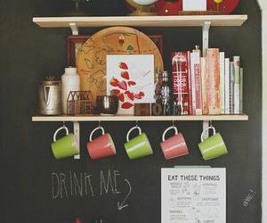cookbooks, home decor, and kitchen decor image