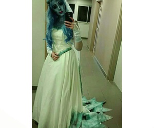cosplay, emily, and the corpse bride image