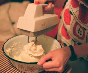 girl, cake, and vintage image