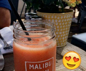 california, drink, and food image