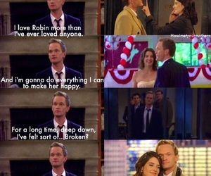barney, couple, and himym image