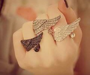 girls style, beautiful jewelry, and girls ring image