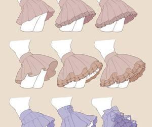 draw and skirt image