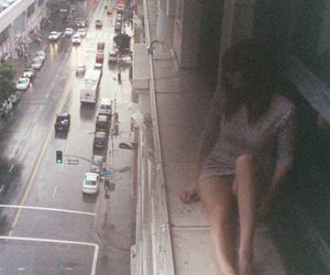 girl, grunge, and city image