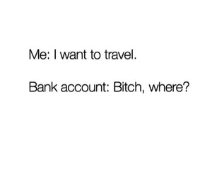 travel, funny, and quotes image